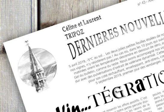bulletin Céline & Laurent Tripoz