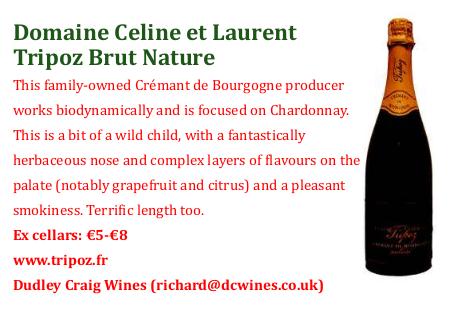 Article sur Crémant de Bourgogne Tripoz