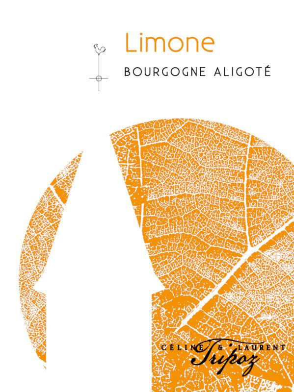 étiquette Limone Bourgogne Aligoté, Domaine Tripoz
