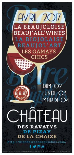 Flyer Bien Boire en Beaujolais 2017