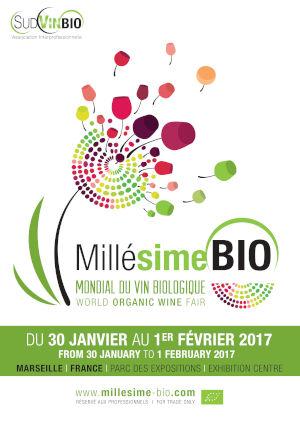 Affiche Millésime Bio 2017
