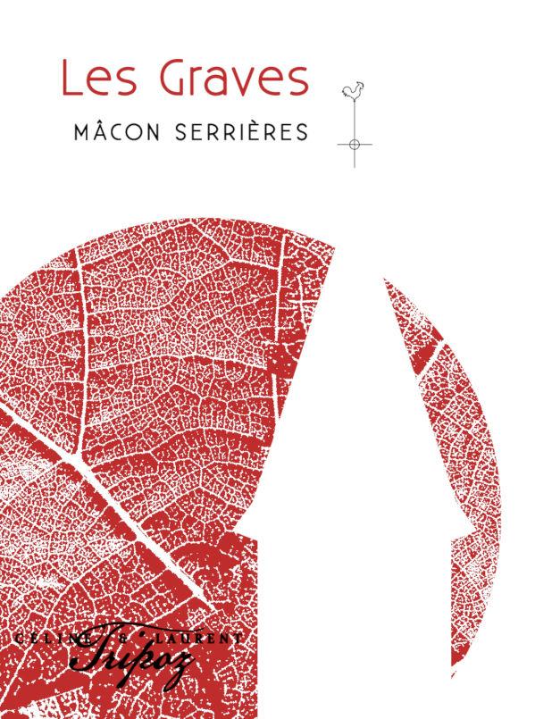 étiquette Mâcon Serrières Les Graves, Domaine Tripoz