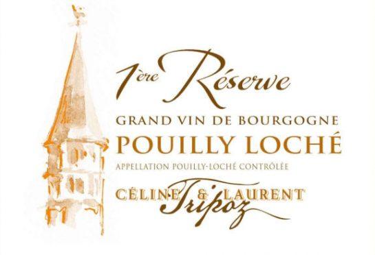 étiquette Pouilly-Loché Réserve, Domaine Tripoz